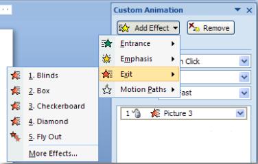 Cara Membuat Animasi Atau Tulisan Bergerak Di Power Point 2007 Smp Negeri 7 Rangkasbitung